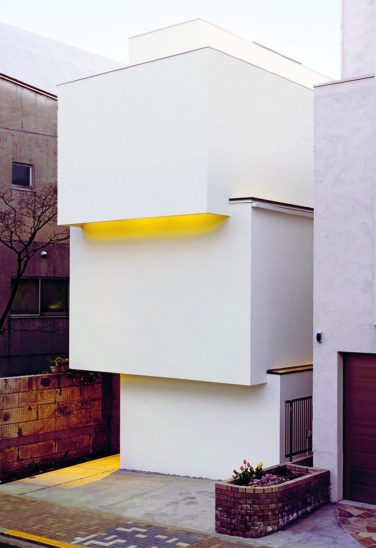 "OBI-House by Tetsushi Tominaga, 2013, in Bunkyo-ku, Tokyo Prefecture, featured in ""Jutaku: Japanese Houses"" (Phaidon)"