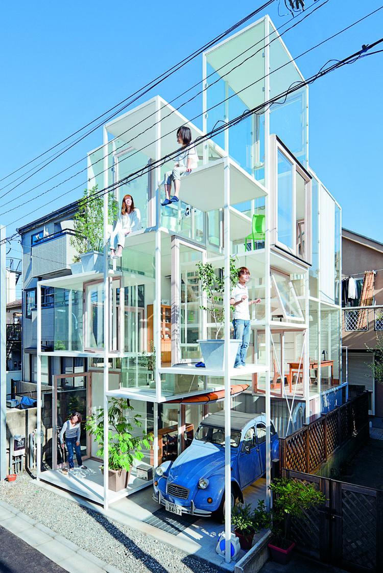 "House NA by Sou Fujimoto, 2011, Tokyo, Tokyo Prefecture, featured in ""Jutaku: Japanese Houses"" (Phaidon)"