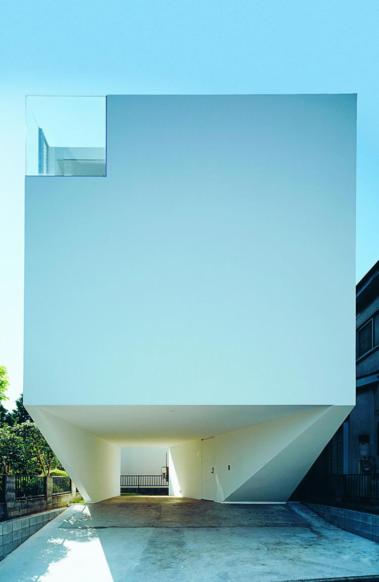 "Dancing Living House by ALX, 2008, Yokohama, Kanagawa Prefecture, featured in ""Jutaku; Japanese Houses"" (Phaidon)"
