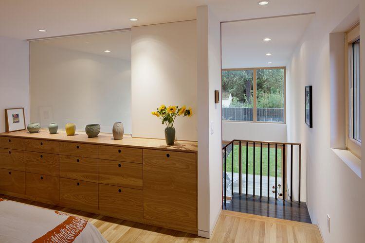Skidmore Passivhaus master suite