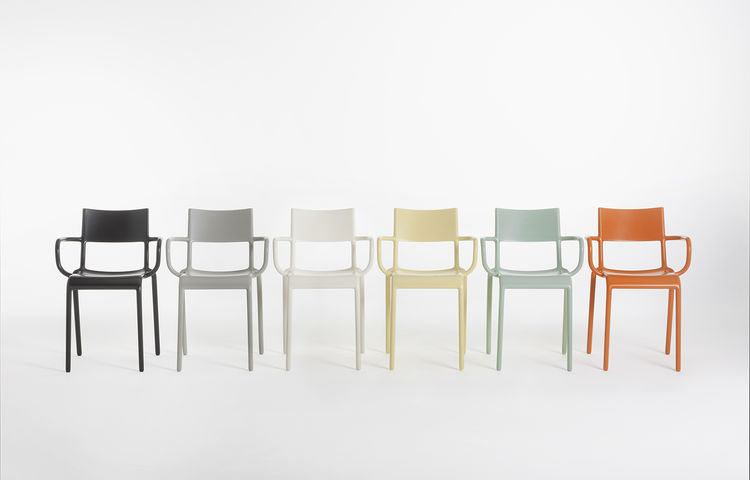 Generic chairs by Philippe Starck for Kartell