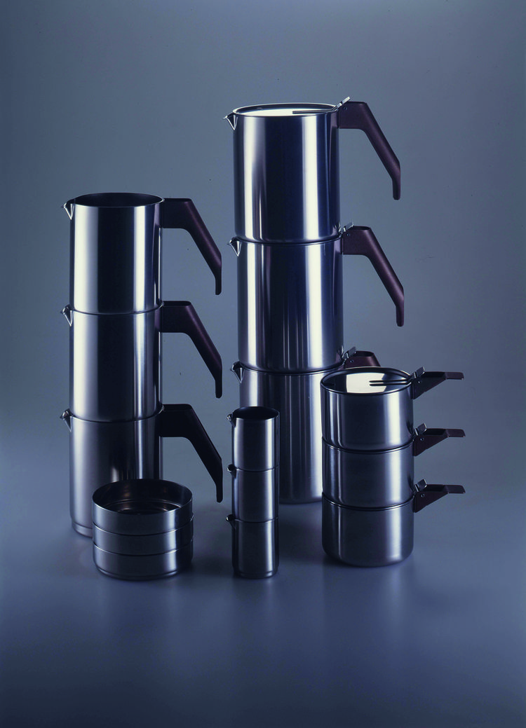 4060, Coffee and tea set, Alessi