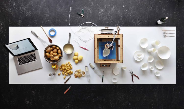 Potato Tableware by DUS Architects