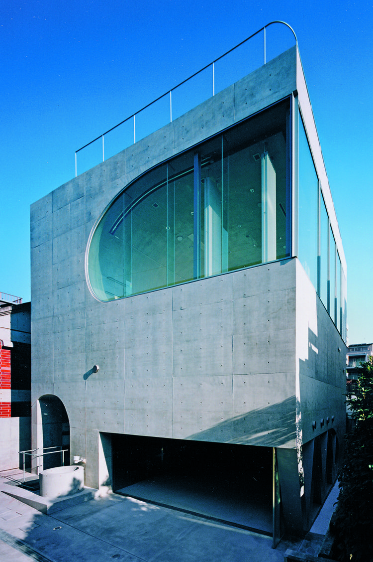 "The Rose by Norisada Maeda, 2003, Minato-ku, Tokyo Prefecture, featured in ""Jutaku: Japanese Houses"" (Phaidon)"