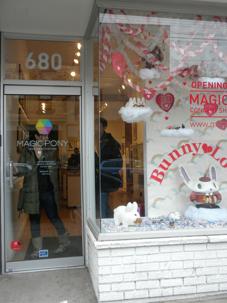 "Up first on Queen Street was <a href=""http://www.magic-pony.com/"">Magic Pony</a>, a store that my sister recommended and that specializes in design toys, books, and small products. Though it might seem a bit kitschy at first, it's full of Dwell favorites:"