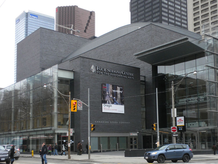 "Finally, I headed to the <a href=""http://www.coc.ca/AboutTheCOC/FourSeasonsCentre.aspx"">Four Seasons Center for the Performing Arts</a>, home to the Canadian Opera Company and performance venue of the National Ballet of Canada. Completed in 2006, the cent"