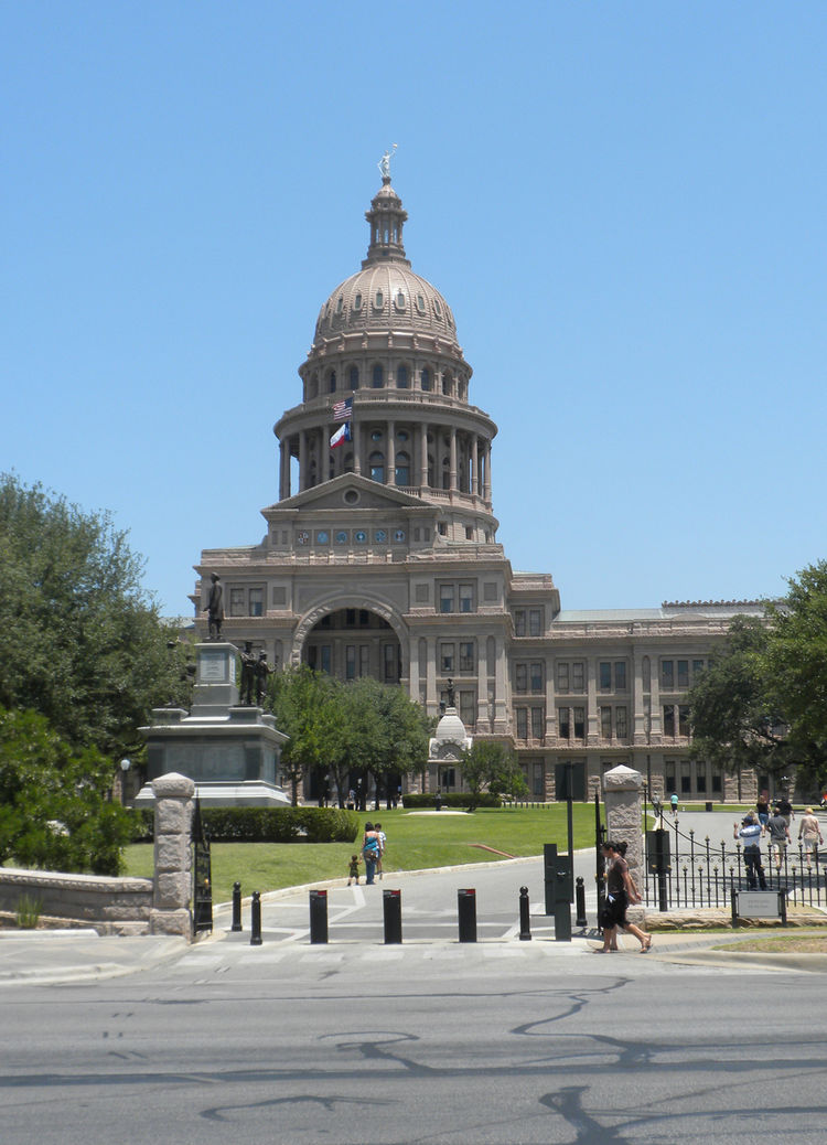 On Sunday, under the gloriously blazing sun, I headed downtown for a walk with a friend that started near the Texas Capitol building, which was completed in 1888.