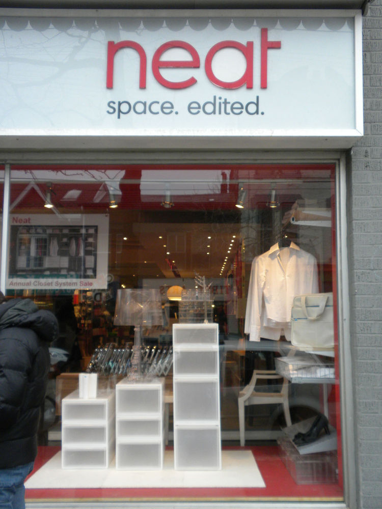 "Next, it was on to <a href=""http://store.neatspace.ca/"">Neat</a>, a nearby modern furniture and products shop."