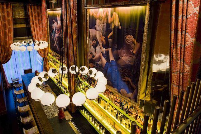 """<b><a href=""""http://www.gitanerestaurant.com/"""" target=""""blank"""">GITANE</a></b> Cafe/bar designed by Rothschild Shwartz Architects & <a href=""""http://www.misterimportant.com/"""" target=""""_blank"""">Mister Important Design</a><br /><br />   The freewheeling bohemian"""