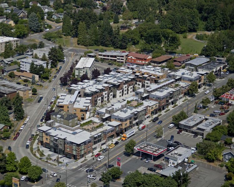 "Project: Merrill Gardens and Cordyon Apartments<p></p>Location: Seattle, Washington<p></p>Developer: Merrill Gardens/SRM Development<p></p>2010 ULI Award for Excellence: The Americas nomination:""Establishing a model for intergenerational living, Merrill"
