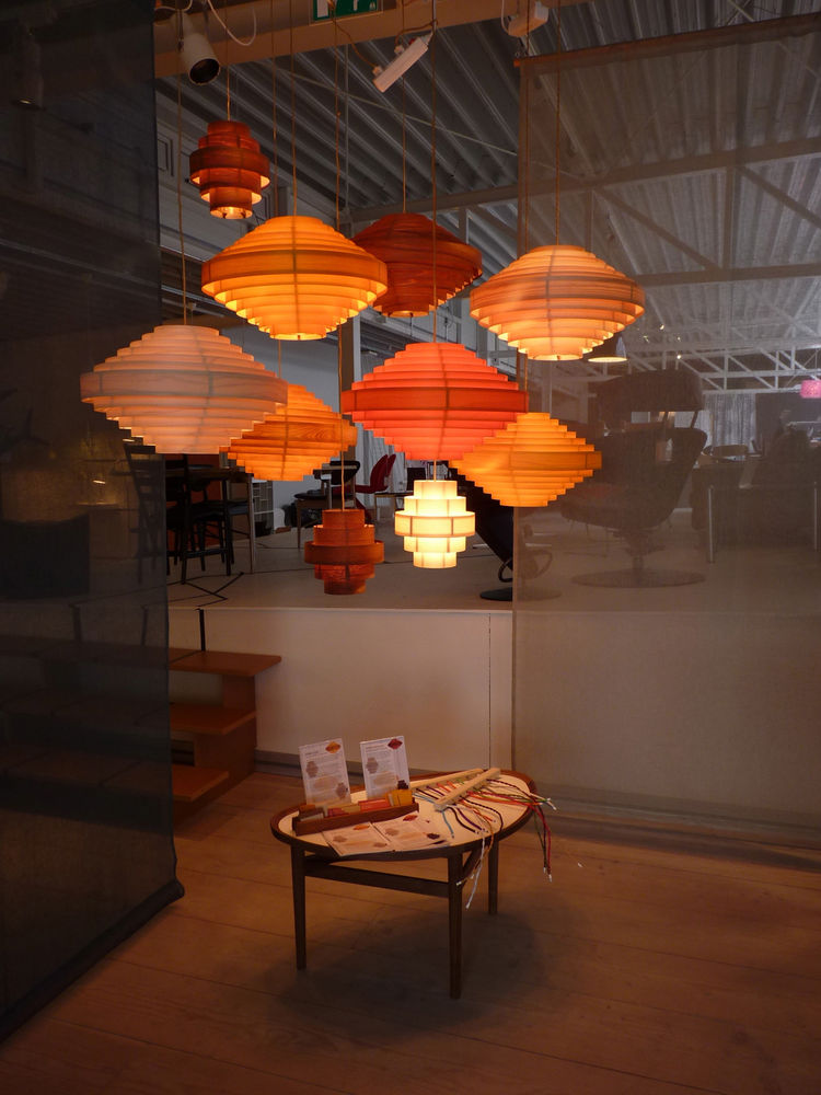"Reykjavik's premier design store, Epal, celebrated over 30 years in business by giving up its top floor to 20 local designers. A real bright spot were DEMO Workshop's <a href=""http://demohandverk.is/"">hanging lamps</a>, each handmade of teak, maple, or pi"