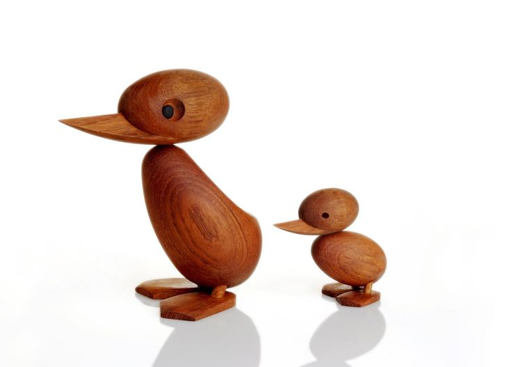 "The Duck and Ducklings are another Hans Bølling design. Bølling, now in his 80s, recently told Architectmade head of sales Shari Rana that the Ducklings don't have eyes where the Ducks do because ""a child doesn't see the world in the same way as an adult."