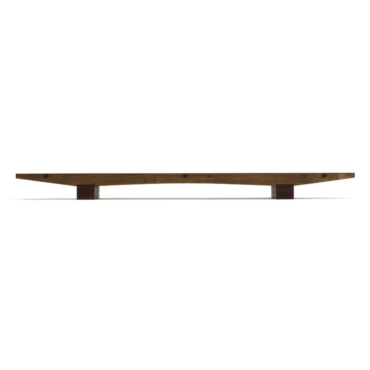 "The ultra-low Caju coffee table, a 2004 design in peroba rosa wood. Photo courtesy <a href=""http://espasso.com/home.asp"">Espasso</a>."