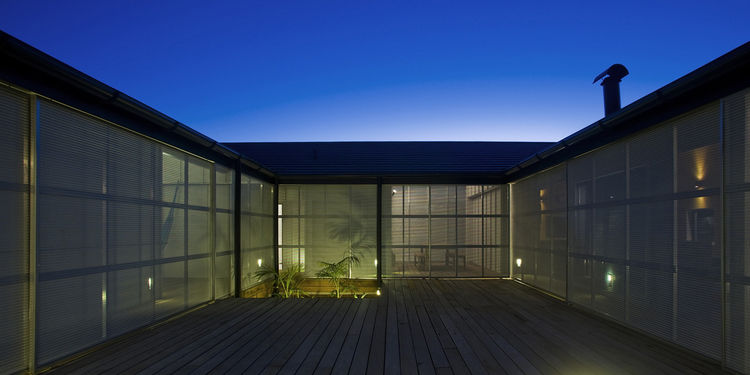 """""""The house has a very particular atmosphere, as it looks in on itself to the courtyard,"""" says O'Sullivan."""