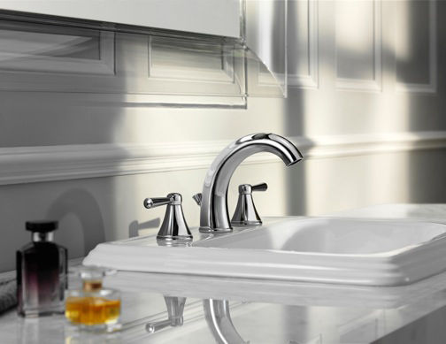 Toto's new, low-flow Silas faucet utilizes just 1.5 gallons of water per minute—half a gallon less than most bathroom faucets.
