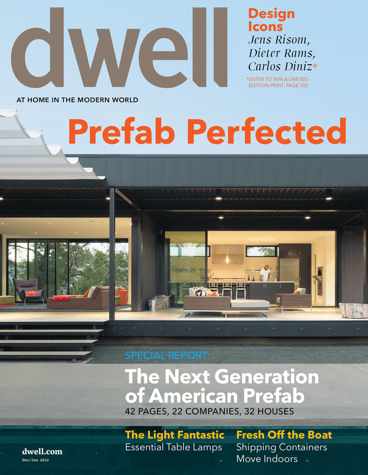 December/January 2012 cover of Dwell