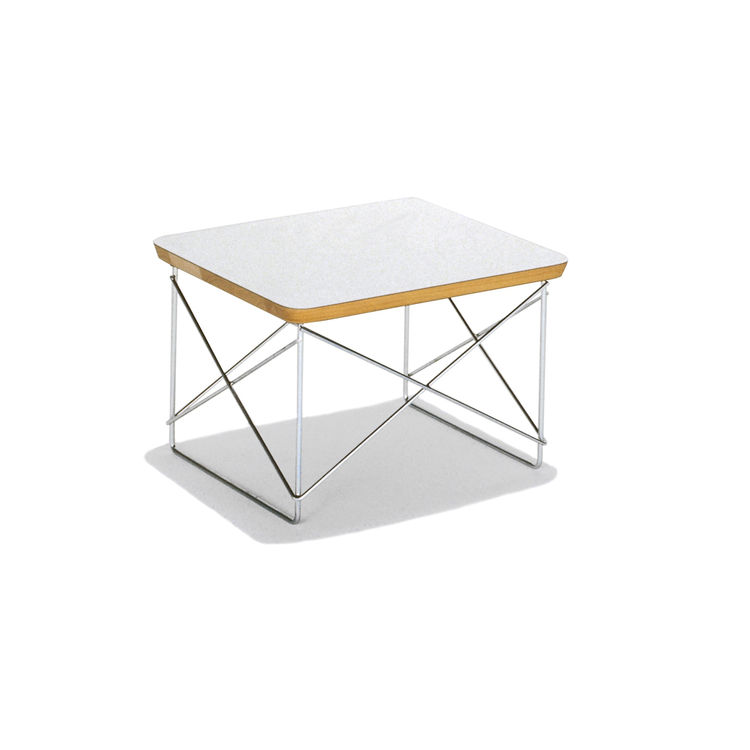 "The Eames Wire-Base Table by Charles and Ray Eames, $179, from <a href=""http://www.hermanmiller.com/Products/Eames-Wire-Base-Table"">Herman Miller</a>."