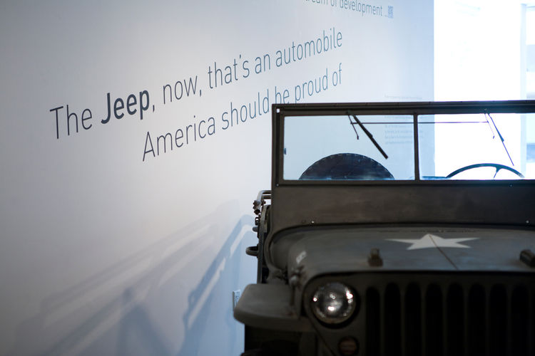 "After many years working together, Sussman accompanied Charles and Ray to an Aspen Design Conference, where Ray saw a Jeep on the street and turned to her and said, ""The Jeep, now, that's an automobile America can be proud of."" Early on, as a summer inter"