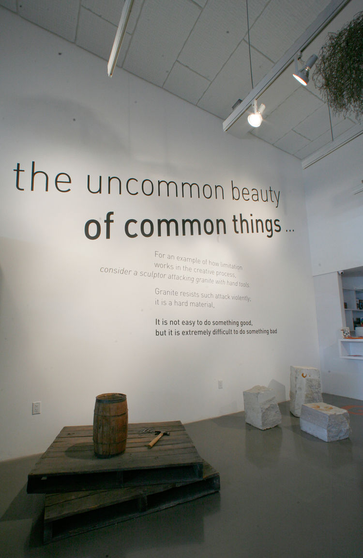 """'The uncommon beauty of common things,' this is most descriptive quote of the project,"" says Sussman. ""They had this deep respect for common things,"" adds Demetrios. ""It's an attitude toward the world and something the world really needs right now. As be"