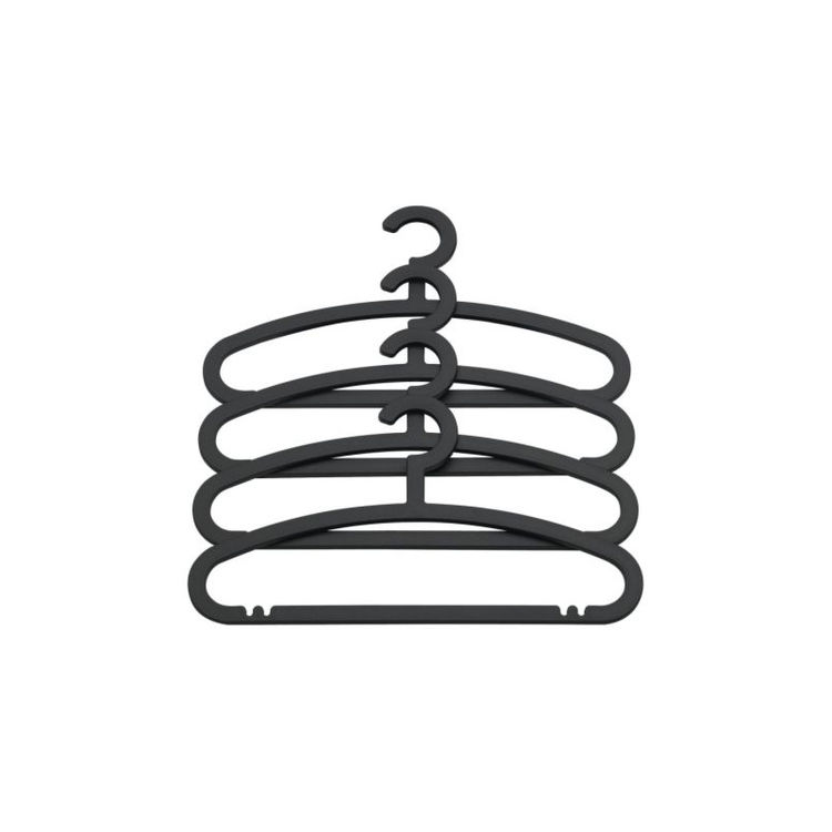 "<a href=""http://www.ikea.com/us/en/catalog/products/10160050"">Hemlis hangers</a> for Ikea. ""I designed these hangers for Ikea, which are probably my best-selling design. I wanted to do really good hangers that are good for the clothes and don't take up mo"