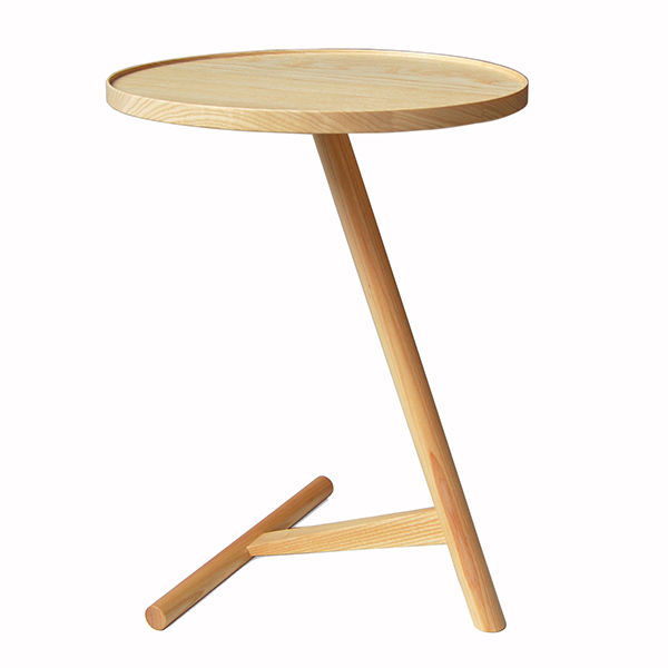 """<h3>Calvo Side Table in Ash, SCP, $315</h3> Alissa Parker-Walker: """"Teatime in the fall is one of those little pleasures that we would never give up. This little table nestles comfortably under the side of your couch or chair and keeps your beverage close"""