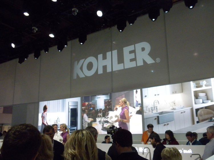"In the mammoth Kohler area, visitors were treated to cooking demonstrations and tasty treats. Kohler will bring its latest designs--as well as debut several new products--to <a href=""http://dwellondesign.com/"">Dwell on Design 2010</a> in Los Angeles, June"