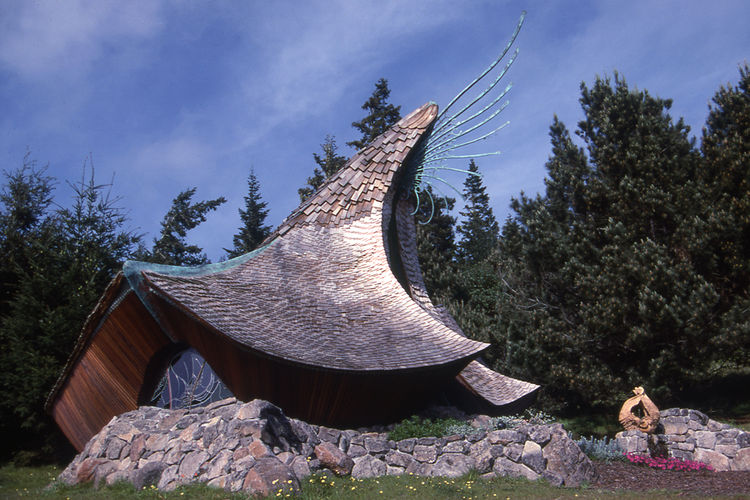 The Sea Ranch Chapel by Hubbell and Hubbell