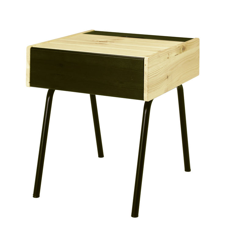 "<b>Mandal Nightstand</b> by Francis Cayouette for <a href=""http://www.ikea.com"">Ikea</a>, $69.99"