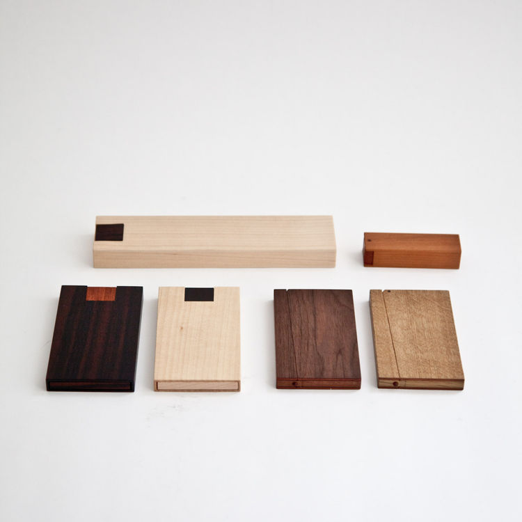 "<b><a href=""http://store.mjolk.ca/index.php?product=Card+Case+Type+M&shop=1 "">3. Business card cases by Masakage Tanno.</a></b> ""One of the first items we ordered for the store were these oak and walnut magnetic business card cases by master craftsman Mas"