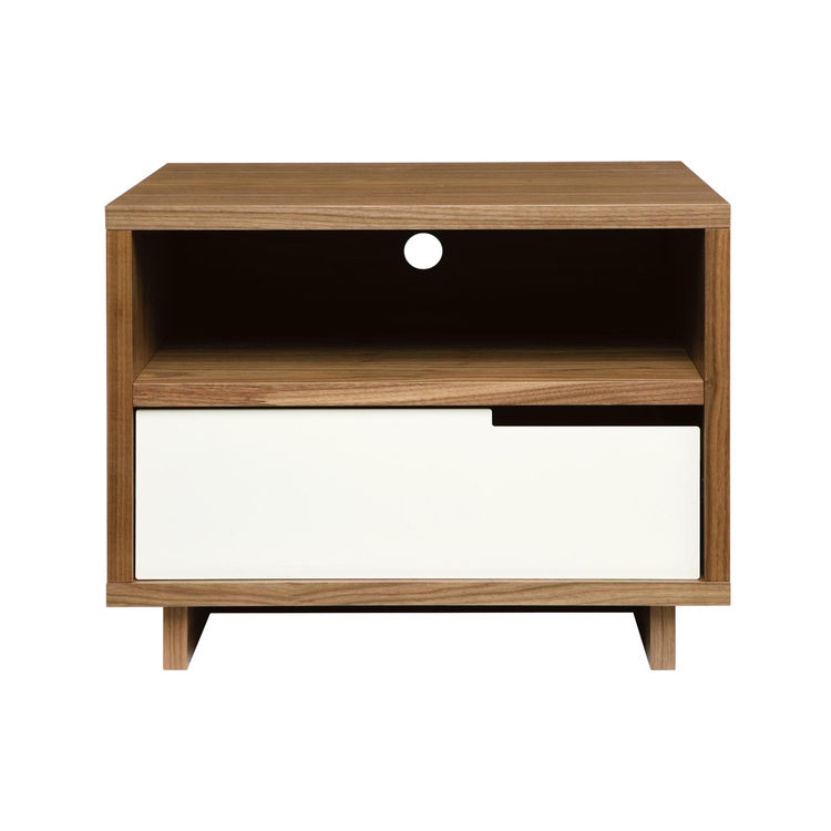 "The maple-veneer Modulicious Bedside Table, $399, from <a href=""http://www.bludot.com/Browse_Products/Tables/product/Modu-licious_bedside_table"">Blu Dot</a>."