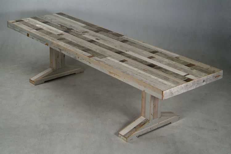 Canteen Table in scrapwood