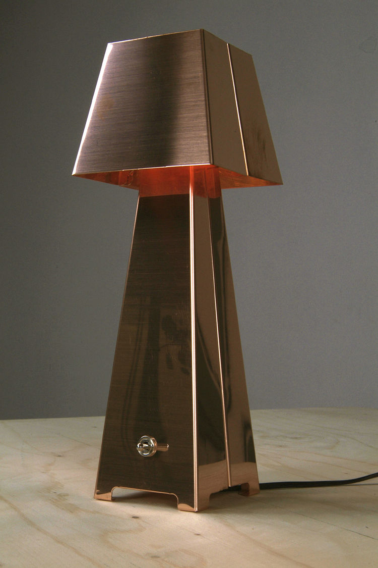 The Copper Table Lamp