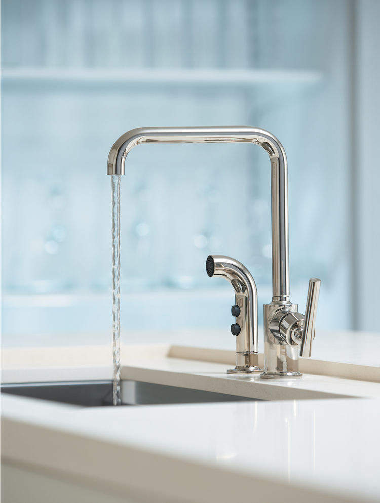 The Purist kitchen faucet by Kohler