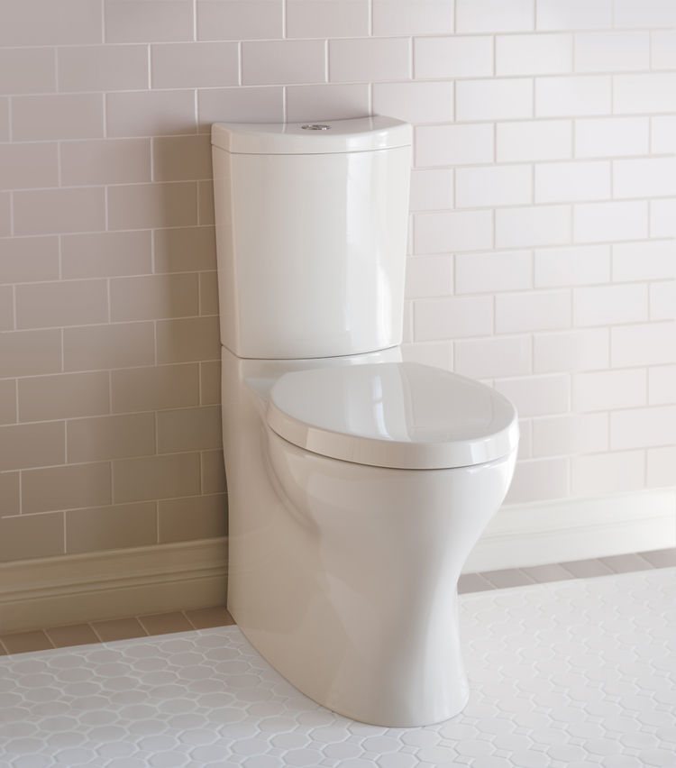 The Pursuade Curv dual-flush toilet by Kohler