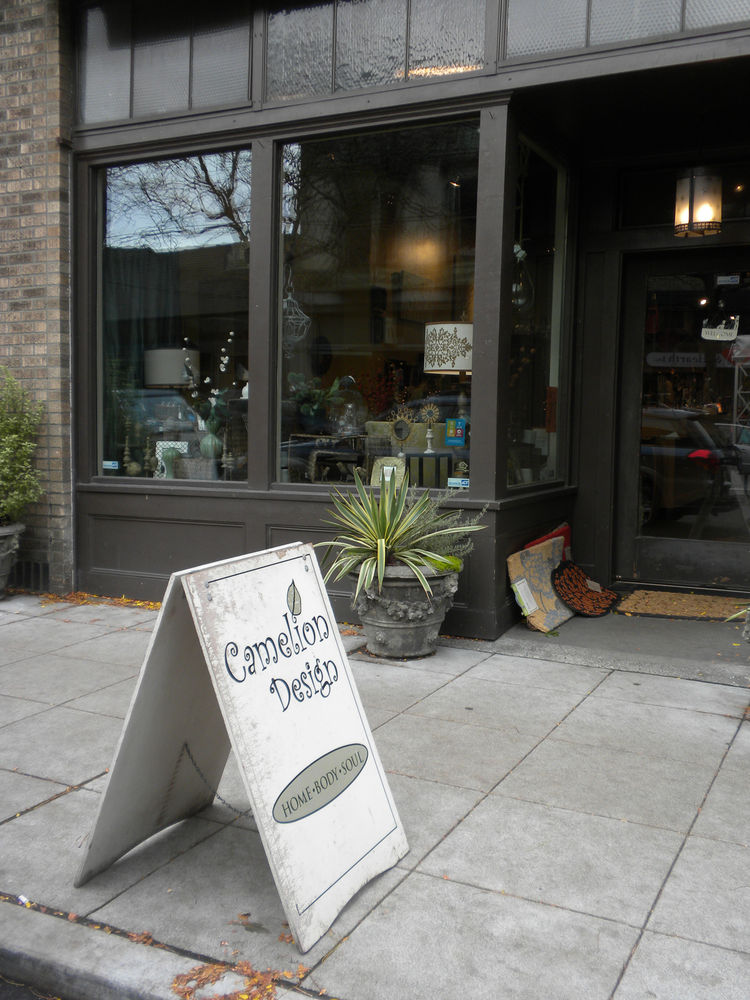 "After the locks, I took a walk down Ballard Avenue, the main drag of the one of the city's hippest neighborhoods these days. One shop I stopped at was <a href=""http://www.cameliondesign.com/"">Camelion Design</a>, which I had read about on <a href=""http://"