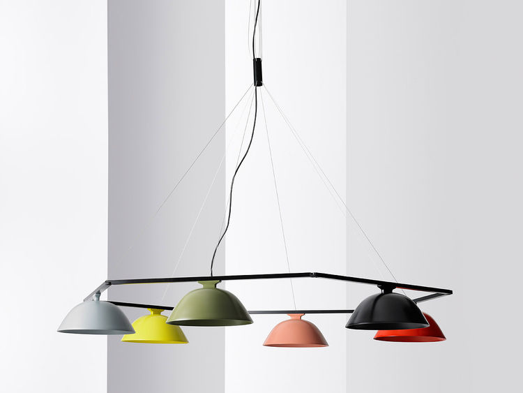 "The guest of honor at the fair is designer Inga Sempé. While she lives and works in Paris, she often collaborates with Scandinavian manufacturers, including <a href=""http://www.wastberg.com/"">Wästberg</a>. This dimmabe LED pendant light (the w103c) can be"