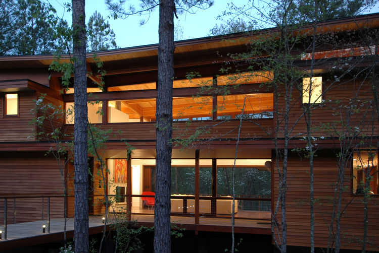 The Serenbe House in Palmetto, Georgia, by Joel Turkel Design.