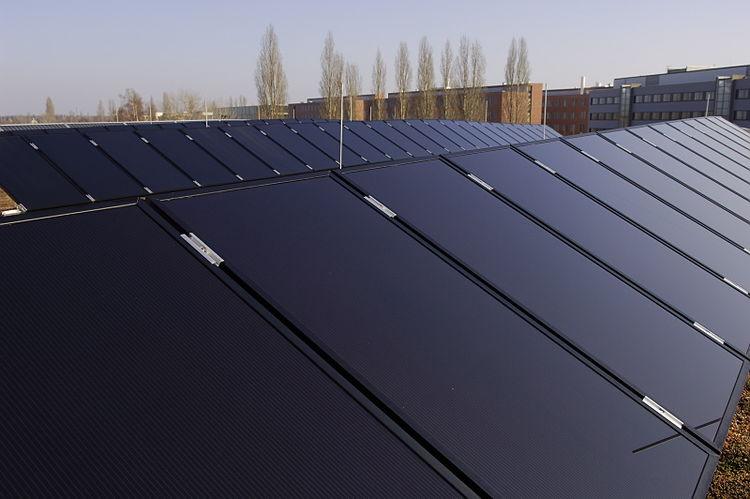 Sulfurcell solar panels.