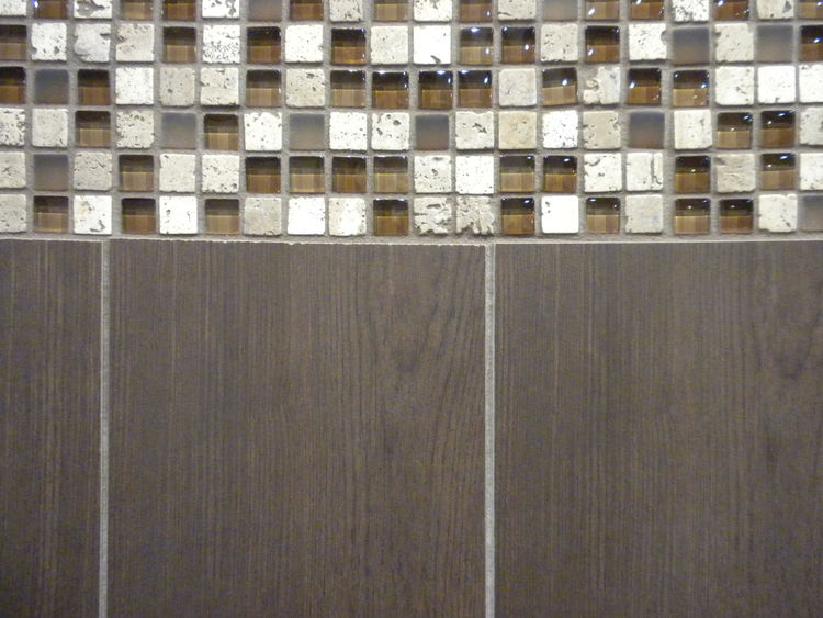 "Also from <a href=""http://www.daltile.com/"">Daltile</a> was Terrace, a line of porcelain floor and wall tiles created to give the illusion of hardwood and sold in six-inch-by-36-inch planks."