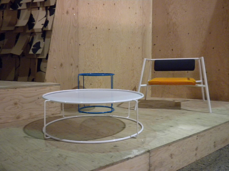 "The <i>Tarantula</i> chair by My and Thien for <a href=""http://www.domison.com/"">Domison</a> was a minimalist design that attracted a lot of attention. Part of the designers' Pâté Chinois collection, the colorful design, a departure for the due, can be cu"
