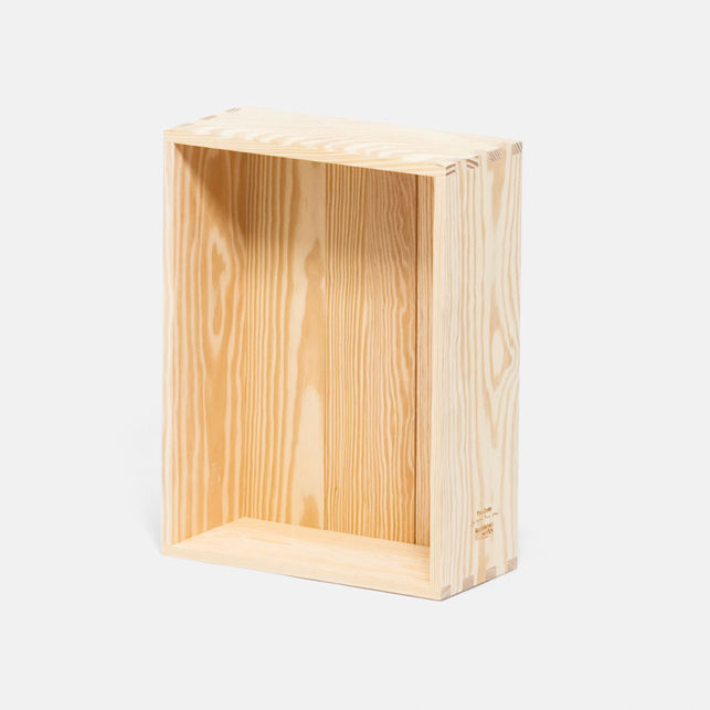 "<b>The Crate</b> by Jasper Morrison for <a href=""http://www.establishedandsons.com"">Established & Son</a>, $179"