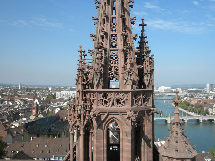 "One excursion that Dwell friend Luc Meier of <a href=""http://swissnexsanfrancisco.org//"">Swissnex San Francisco</a> highly recommended was climbing up the Münster cathedral. The climb cost four Swiss francs (a little over $4.30 US with current conversions"