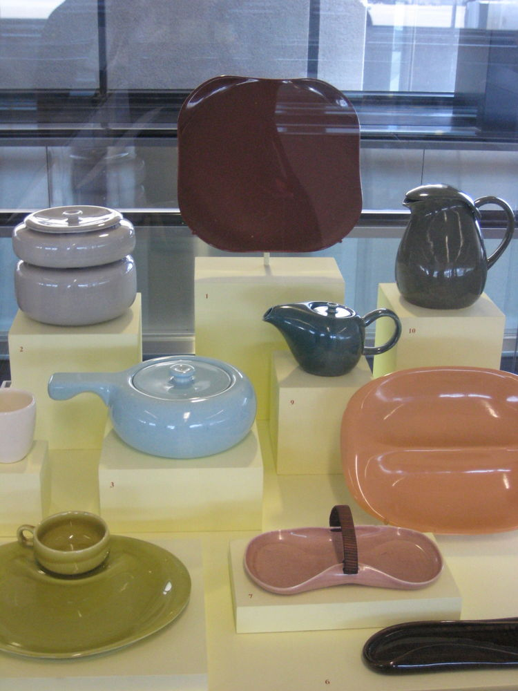 The American Modern collection, manufactured by Steubenville Pottery. This was the line that brought casual dining to the tables of families across America.