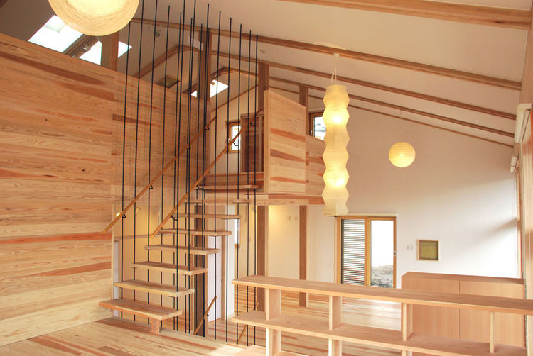 The project, which used locally-harvested wood and a natural plaster finish, brought Mori closer to her vision of combining modern Passive House design with Japan's traditional building heritage.