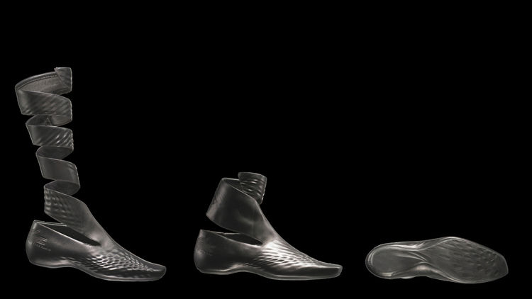 Lacoste Shoes, 2008. Zaha Hadid (Iraqi, b. 1950). Leather, rubber. Various sizes. All colors. Made by Lacoste S.A., Paris, France. Photography courtesy of Lacoste.