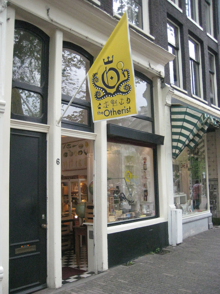 """The exterior of <a href=""""http://www.otherist.com/"""">The Otherist</a>, a modern curiosity shop in the <a href=""""http://www.theninestreets.com/"""">Nine Streets</a> area of town. Head to these blocks, bound by canals, for loads of great little stores."""