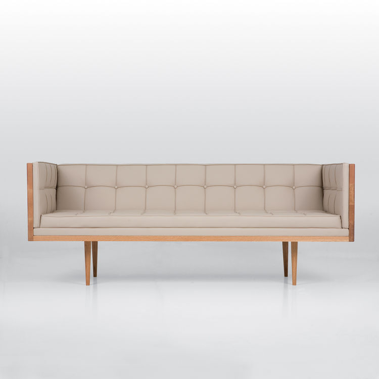 Autoban's interior work continues to showcase and inspire new product designs. The Box sofa is specifically intended to bring contrast into rooms filled with curvaceous products like the King Lamp.