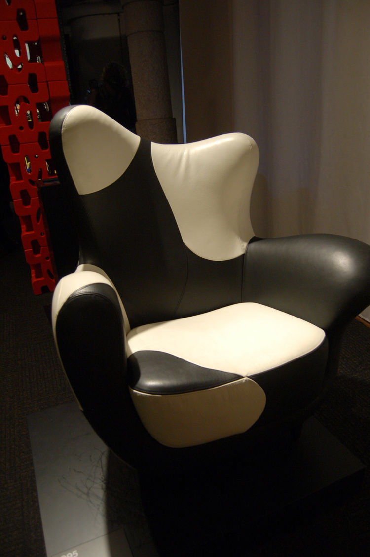 Another Mariscal classic—the Alessandra armchair, designed for Moroso in 1995.