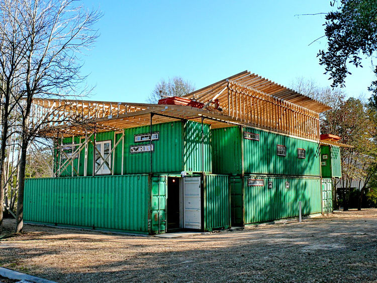 """A shot of the structure as it appeared mid-February. Cherubini regularly updates his <a href=""""http://epicsoftware.com/index.php/blog/list_by_category/41/"""">blog</a> with the latest steps in the construction process. We'll definitely be checking in for the"""