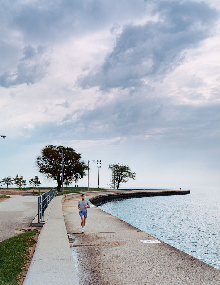 The Lake Shore Drive bike path provides ample opportunity for outdoor recreation.